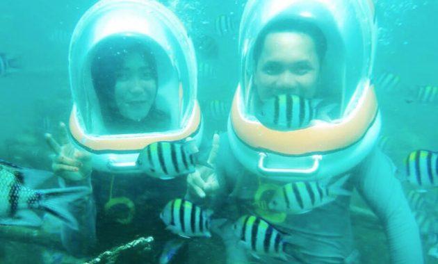 Wisata Seawalker Bali