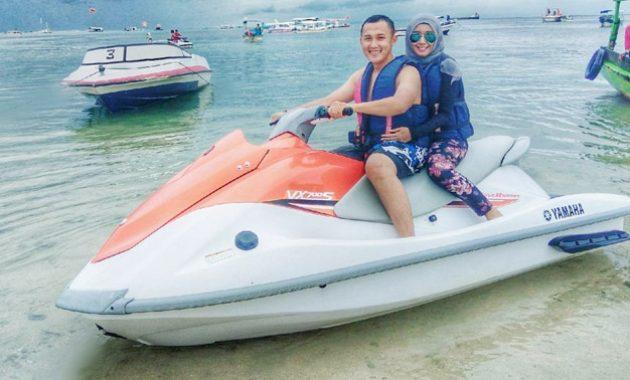Menikmati Jet Ski Tanjung Benoa
