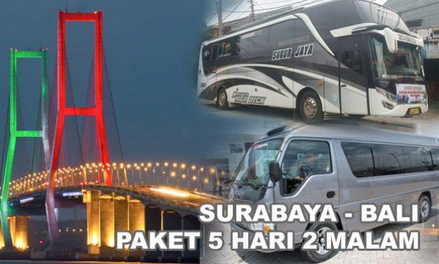 Paket Tour Murah Surabaya Bali 5 Hari 2 Malam