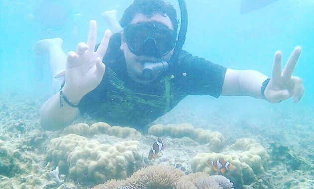 Bermain Bersama Ikan Lewat Snorkeling Di Tanjung Benoa