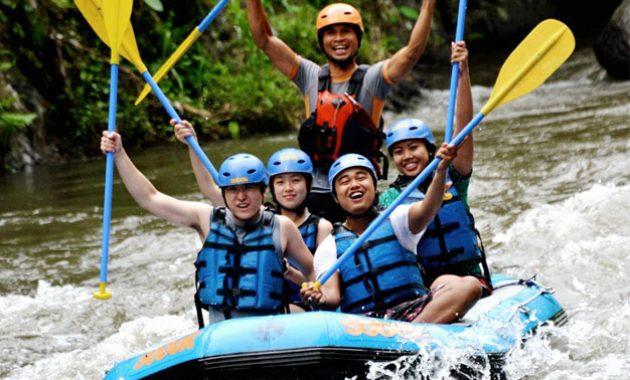 Jelajahi Rafting Sungai Ayung