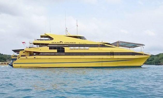 Wisata Kapal Pesiar Bounty Cruise Bali