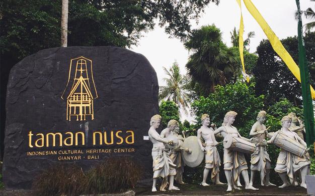 Taman Nusa Bali yang Begitu Mengagumkan